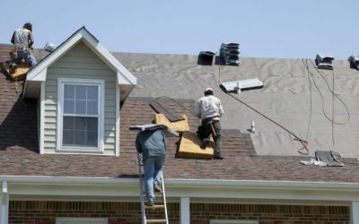 Hail Damaged Roof Tips