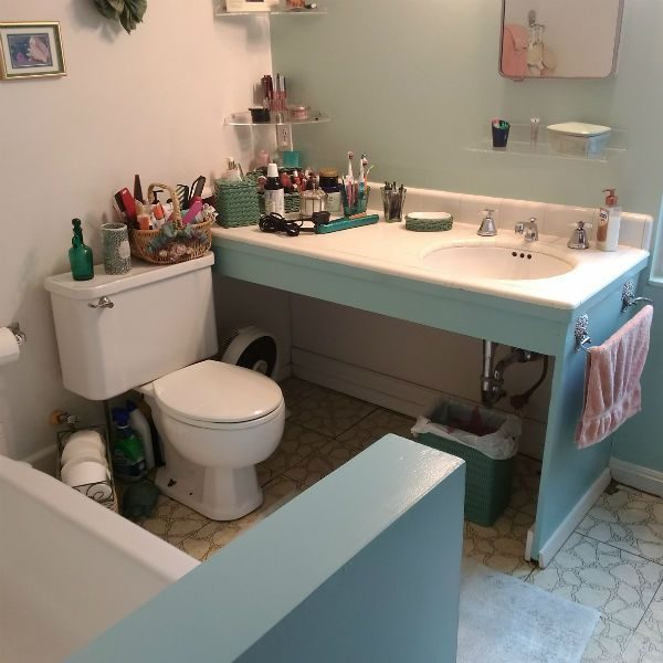 Marvelous Bathroom Contractor Before Remodel Pic