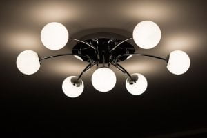 home design trends - change light fixtures