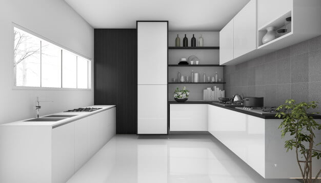 Galley kitchen remodeling ideas.